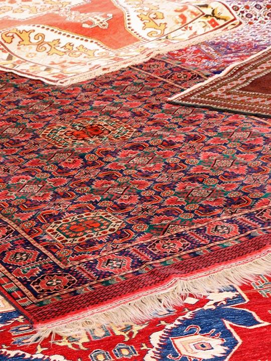 rugs on floor